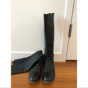 Frye Molly Gore Tall Riding Boot